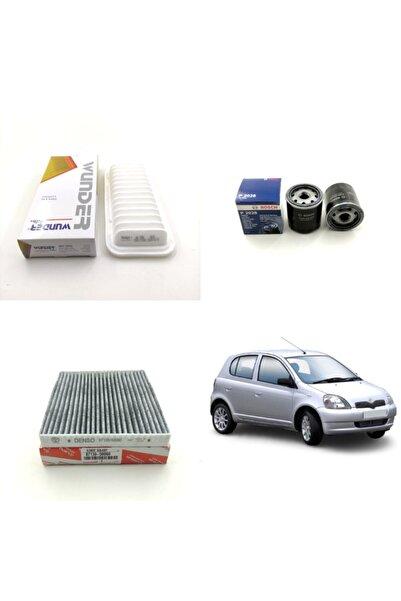 WUNDER Toyota Yaris 1.3 87hp ( 2002 - 2007 ) Filtre Bakım Seti