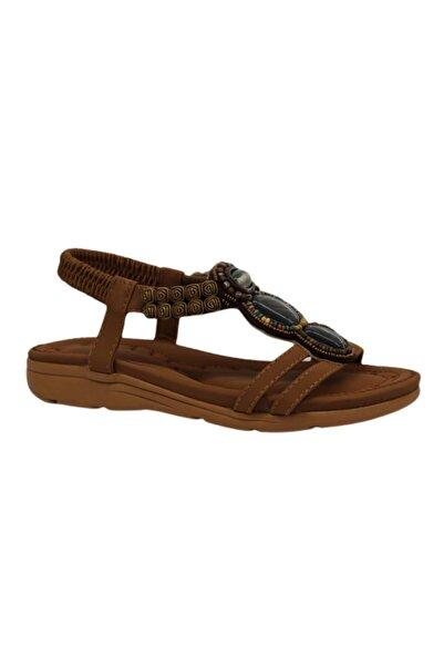 Guja Kadın Kahverengi Günlük Sandalet