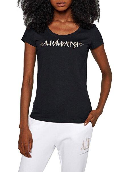 Armani Exchange Kadın Siyah T shirt 3kytgv Yj73z 1200