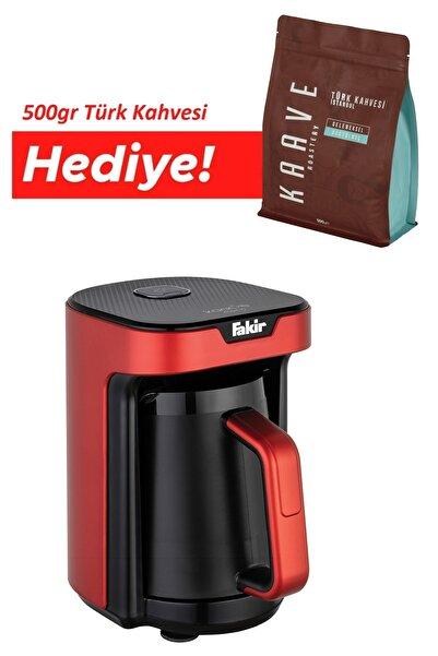 Fakir Kaave Mono Otomatik Türk Kahve Makinesi Rouge Türk Kahve Makinesi Hediyeli
