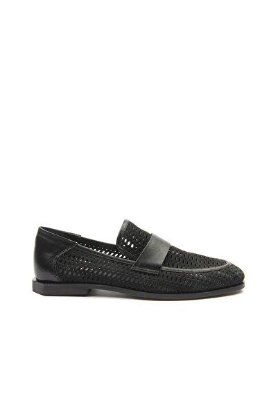 TOGO Kadın Yüzey Delikli Kemerli Kadın Klasik Ayakkabı