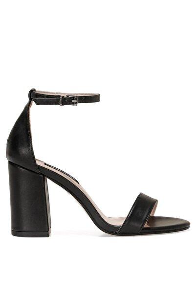 Nine West MAYSIE 1FX Siyah Kadın Topuklu Sandalet 101029954
