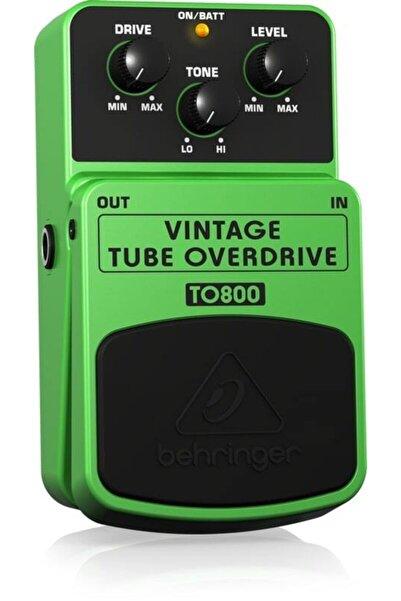 Behringer Behrınger To800 Vintage Tube-sound Overdrive Efekt Pedalı