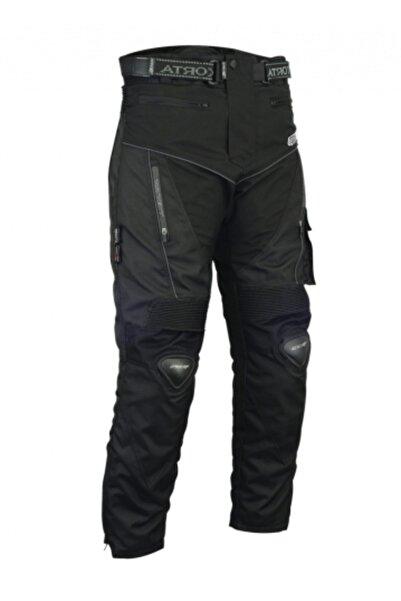 Prosev Erkek Siyah Titanyum Korumalı Kışlık Motosiklet Pantalonu
