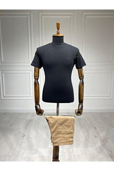 Sarar Siyah Basic 0 Yaka T-shirt
