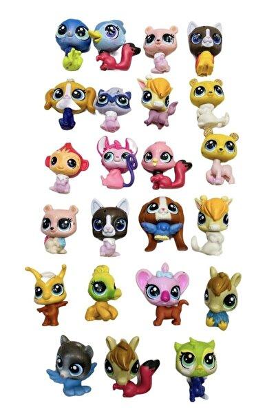 Minişler Pet Shop Littlest Pets Shop Lps Minişler 10 Adet Birden Oyuncak Miniş