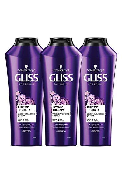 Gliss Intense Therapy Yeniden Yapılandırıcı Şampuan 360 ML 3'lü