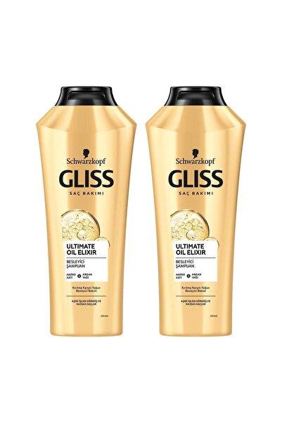 Gliss Ltimate Oil Elixir Besleyici Şampuan 360 ml 2'li