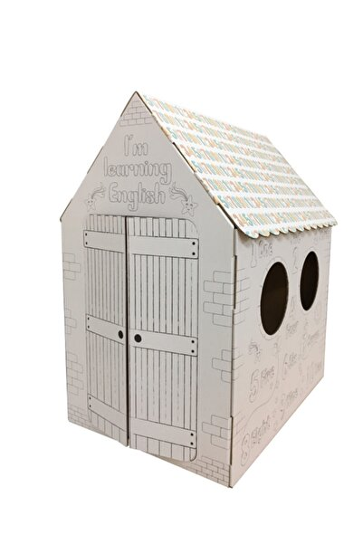 Prigo Dijital Çözüm Merkezi Prigo Sayılarla Öğren Karton Boyama Evi
