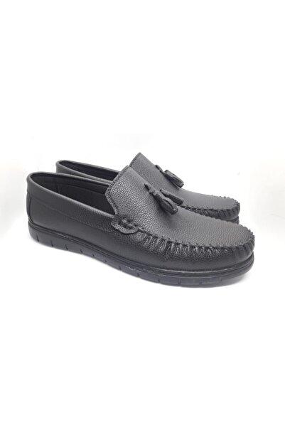 Erdem 4748sf Günlük Siyah Erkek Ayakkabı