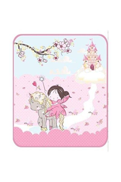 Soley Pembe Fairy Baskılı Bebek Battaniyesi
