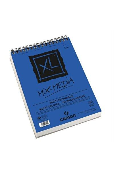 Canson Xl Mix Media Çok Amaçlı Sanatsal Blok A4 300gr 30 Yaprak