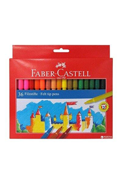Faber Castell 36 Renk Yıkanabilir Keçeli Kalem