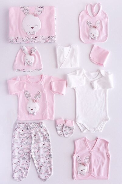 Gaye Bebe Pamuklu Sevimli Tavşan Kız Bebek 10'lu Hastane Çıkışı 647