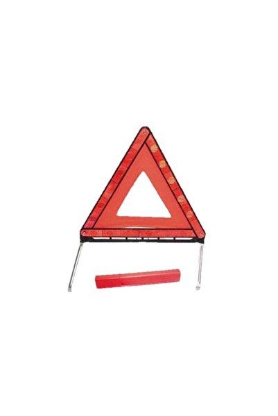 Carub Tp Üçgen Reflektör Demir Ayak E4 Belgeli