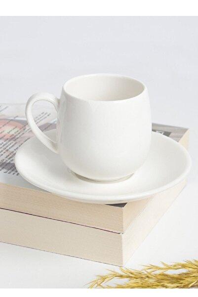 ACAR Porselen 6 Lı Kahve Fincanı Porj-010131