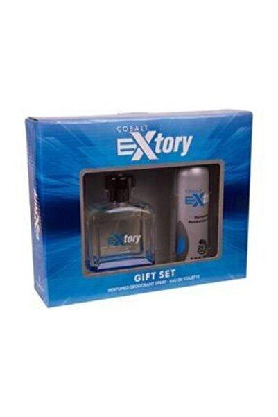 Extory Erkek Cobalt Edt 100 Ml Parfüm Seti