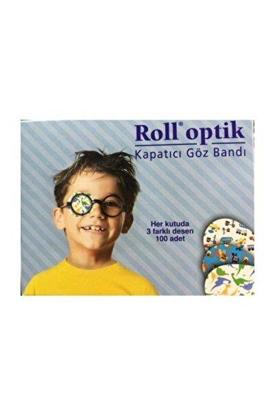 Kurtsan Roll Optik Göz Kapama Bandı 100 Adet Erkek Çocuk