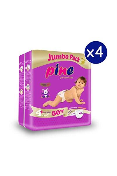 Pine Maxi Plus Bebek Bezi (9-20 Kg) 200 Adet