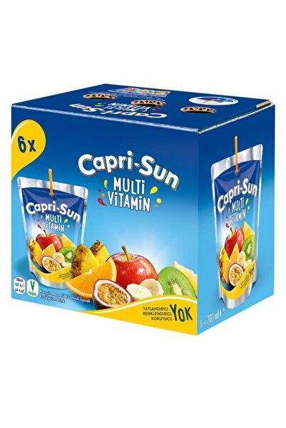 CAPRİSAN Capri - Sun Multivitamin 200 Ml X 6 Adet