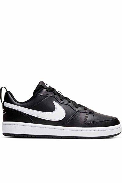 Nike Kadın Siyah Günlük Spor Ayakkabı Bq5448-002 Court Borough Low 2 gs