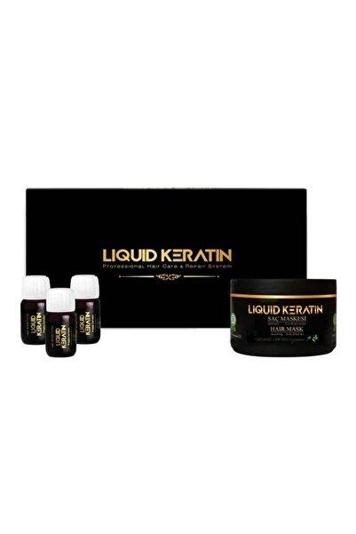 Liquid Keratin Serum ve Maske Yıpranmış Saçlara Bakım Onarıcı Keratin Seti
