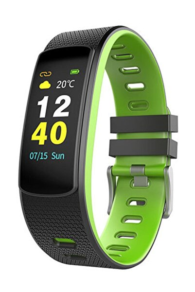 Everest Ever Fit W45 Android/ıos Smart Watch Full Dokunmatik Ekran Yeşil/siyah Akıllı Saat