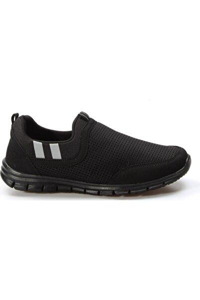 Forza Unisex Siyah Sumi File Bağcıksız Aqua Yürüyüş Ve Günlük Ayakkabı 3820