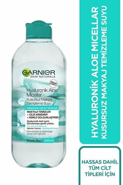 Garnier Micellar Hyaluronik Aloe Kusursuz Makyaj Temizleme Suyu 400 ml