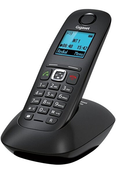 GIGASET A540 Siyah Telsiz Dect Telefon Handsfree Işıklı Tuş Takımı