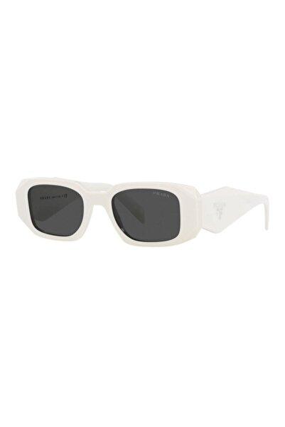Prada Kadın Beyaz Güneş Gözlüğü Pr 17ws 1425s0 49-20