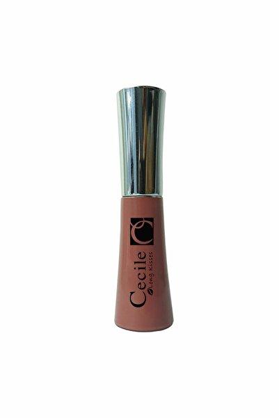 Cecile Long Kisses Lipgloss Likit Kalıcı Ruj No:33 Brown Down