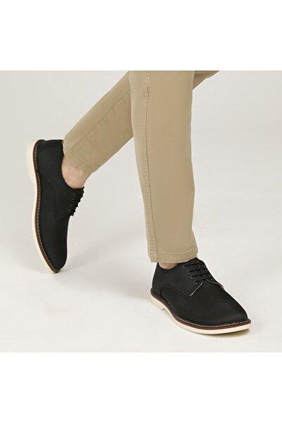 JJ-STILLER 61120 Siyah Erkek Klasik Ayakkabı
