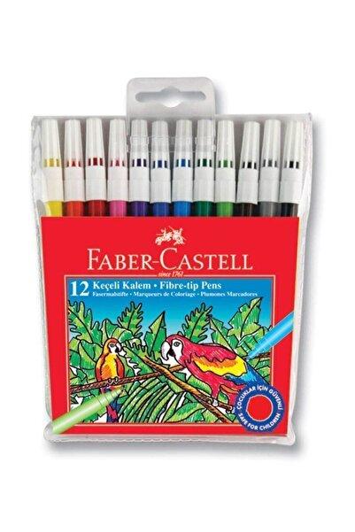 Faber Castell 12 Renk Keçeli Kalem 196017