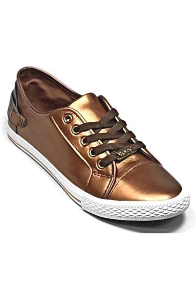 U.S. Polo Assn. Eftelya Kadın Sneaker Ayakkabı Bronz