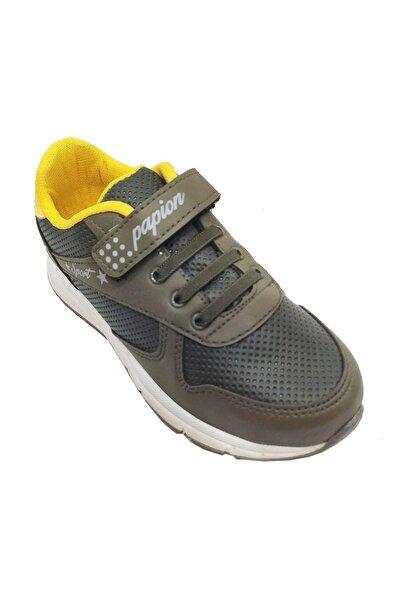 Papion Çocuk Haki Filet Spor Ayakkabı 105