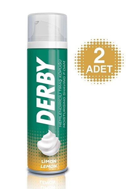Derby Tıraş Köpüğü Limon 200ml 2 Adet