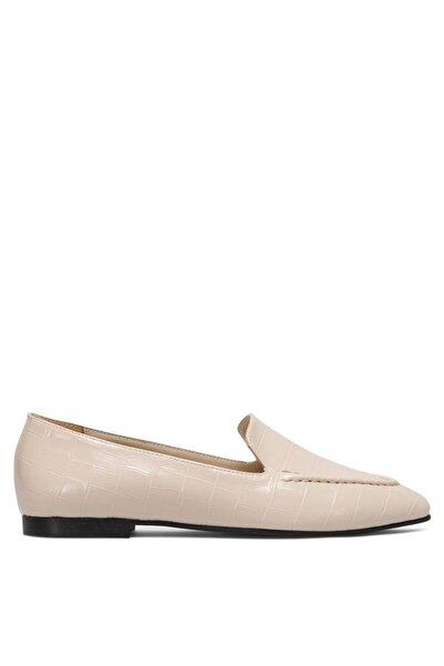 Nine West Kadın  Krem Loafer Ayakkabı 1fx