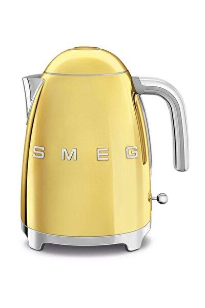 SMEG Altın Klf03goeu Paslanmaz Çelik Su Isıtıcı Kettle