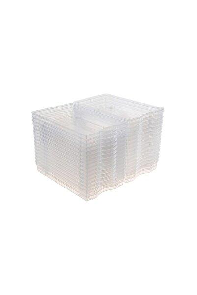 Tuğbasan Kadın Ayakkabı Kutusu Şeffaf Plastik 10 Adet (10 Lu Paket)