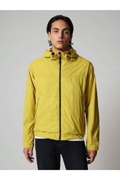 Napapijri Erkek Sarı Ceket