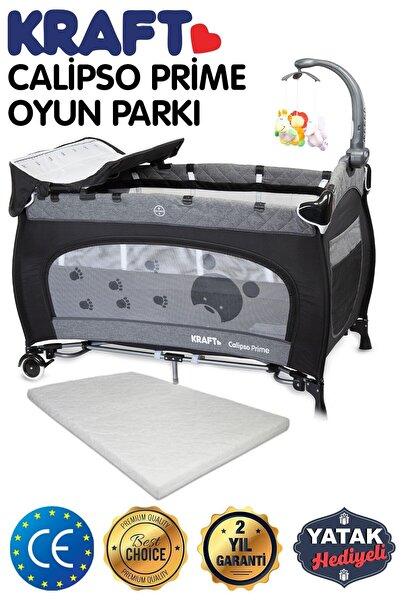 Kraft Calipso Prime Dönenceli Oyun Parkı Siyah