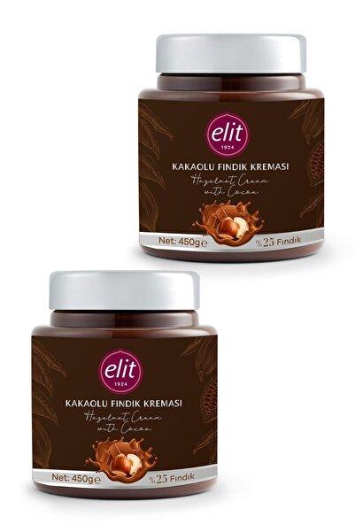 Elit Çikolata Fındık Ezmesi Pralin 450g 2'li Set (2X450G) Glutensiz