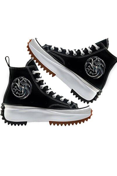 Art's Dragons Run Star Unisex Canvas Sneaker Ayakkabı
