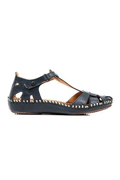 Greyder Kadın Mavi Comfort Sandalet (s)51266 Zn