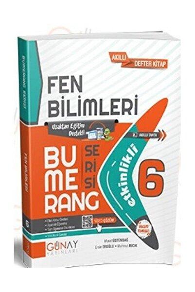Günay Yayıncılık Günay 6.Sınıf Bumerang Fen Bilimleri Akıllı Defter