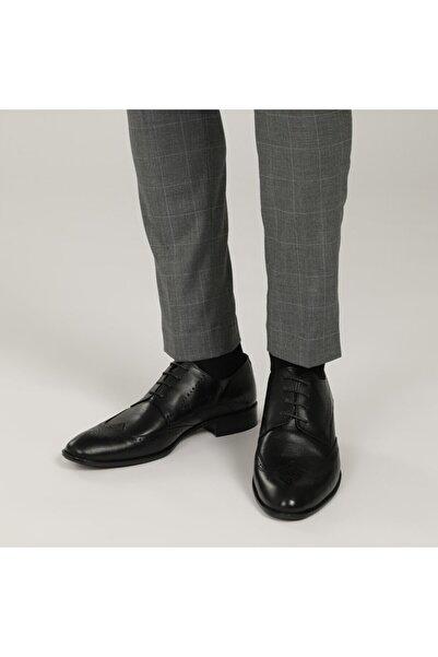 Garamond 1776-2 1FX Siyah Erkek Klasik Ayakkabı 101015105