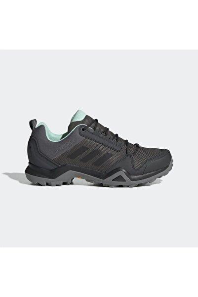 adidas Kadın Füme Terrex Ax3 Gtx Outdoor Ayakkabı