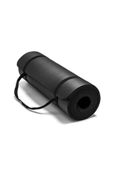 1,5 Cm Pilates Minderi-pilates Matı 15 Mm Siyah Renk