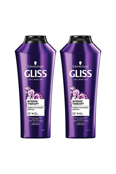 Gliss Intense Therapy Yeniden Yapılandırıcı Şampuan 360 ml 2'li